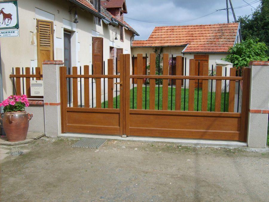 Fabrication et pose de portails
